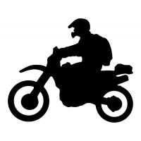 Jezdec na enduru