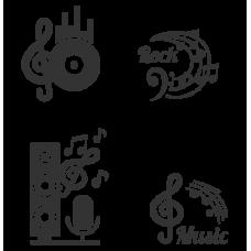 Sada hudebních motivů