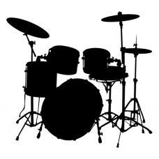 Hudební motiv - bicí nástroje