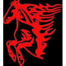 Kůň na auto