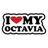 Miluji moji Octavii - I love my Octavia