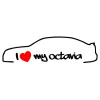 Miluji moji Octavii - I love my  Octavia (1 - 3 ks v sadě)