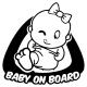 Baby on boad - Dítě v autě