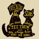 Přátelé jsou jako hvězdy - Anglicky - více barev