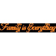 Family is everything - rodina je vše