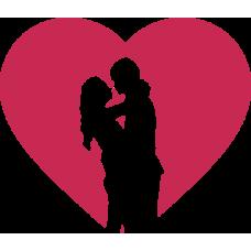 Zamilovaný pár v srdci 2
