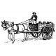Farmář s vozem