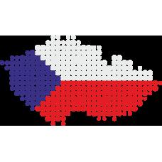 Česká republika z puntíků