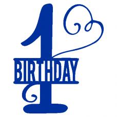 1. narozeniny - birthday