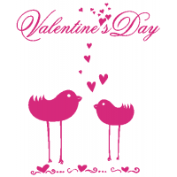 Valentýn - ptáčci