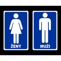 Označení dveří WC - Ženy - Muži