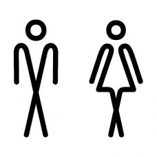 Označení dveří WC