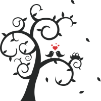 Ptáci na stromě