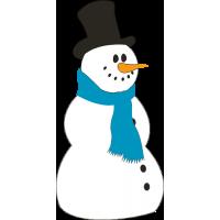 Sněhulák - vhodný na okno z venku
