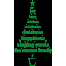 Vánoční strom - family
