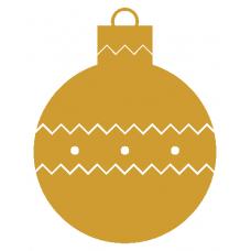 Vánoční baňka - Sada (1-4 ks)