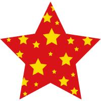 Vánoční hvězda 2 (1 - 4 ks v sadě)