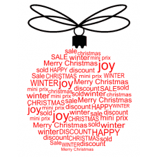 Vánoční koule - více barev