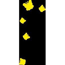 Motýlci - jednobarevní