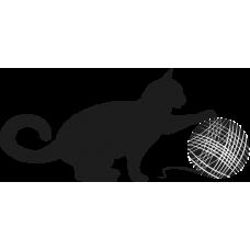 Kočka s klubíčkem