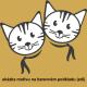 Dvě kočičky - více barev