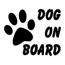 Pes ve vozidle - Dog on board EN